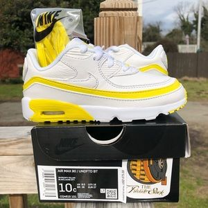 Nike Air Max 90 Undefeated Black/Optic Yellow  TD